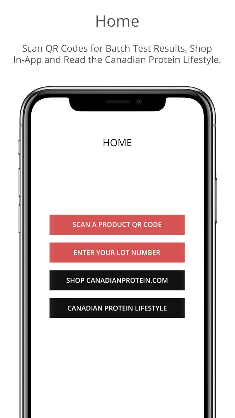 Canadian Protein App Screenshot 2
