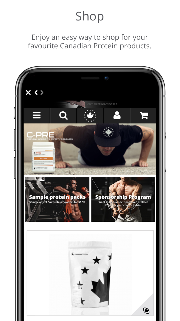 Canadian Protein App Screenshot 5