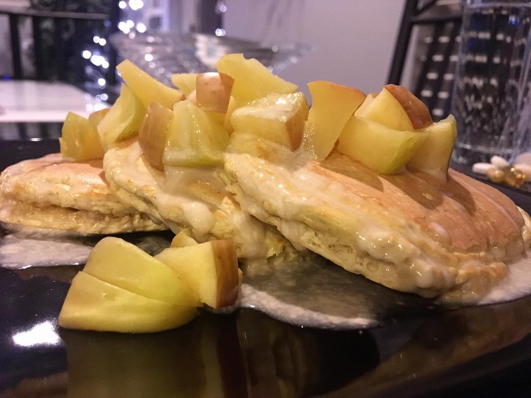 Canadian Maple Whey Protein Pancakes - Recipe